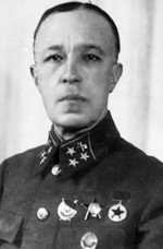 Portrait of Lieutenant General Dmitry Karbyshev, 1940-1941