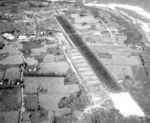 Aerial view of Vega Baja Auxiliary Airdrome, Puerto Rico, 10 Feb 1943