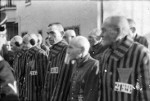 Prisoners at Sachsenhausen Concentration Camp, Germany, 19 Dec 1938