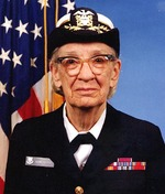 Portrait of Commodore Grace Hopper, 20 Jan 1984