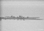 Soviet TB-3 heavy bomber captured by Finnish forces, Kuhmo-Sauna Lake, Kainuu, Finland, 14 Mar 1940