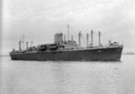 USS Ancon underway, off Norfolk, Virginia, United States, 15 Oct 1942