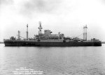 USS Ancon, Portsmouth, Virginia, United Staes, 21 Apr 1943, photo 1 of 2