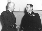 Air Chief Marshal Charles Burnett and Air Vice Marshal William Bostock, Australia, 12 May 1942