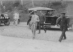 Crown Prince Hirohito at Mount Kusa, Taiwan, 25 Apr 1923