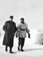 Ferdinand Schörner in far northern Russia during Operation Silver Fox, 1941
