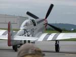 P-51 Mustang fighter at rest, Reading Regional Airport, Pennsylvania, United States, 3 Jun 2018, photo 1 of 2