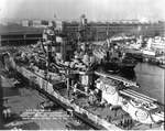USS New Mexico, Norfolk Navy Yard, Portsmouth, Virginia, United States, 31 Dec 1941, photo 1 of 5