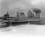 USS New Mexico and USS Lexington, Puget Sound Navy Yard, Bremerton, Washington, United States, 1937