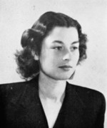 Portrait of Violette Szabo, 1940s