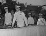 Commissioning ceremony of USS New Jersey, Philadelphia Navy Yard, Pennsylvania, United States, 23 May 1943, photo 08 of 25