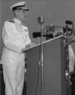 Commissioning ceremony of USS New Jersey, Philadelphia Navy Yard, Pennsylvania, United States, 23 May 1943, photo 14 of 25
