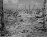 View of Kwajalein, Marshall Islands, 1944