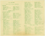 Christmas holiday greeting card from the officers of USS New Jersey, Dec 1944, page 2 of 3