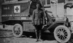 Julien Bryan with Ambulance 464, France, 1917
