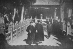 Chiang Kaishek and Song Meiling at the Guanlin Temple in Luoyang, Henan Province, China, 31 Oct 1936