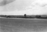 C-47 aircraft taking off at Lashio Airfield, Shan, Burma, Apr 1945; photo taken by personnel of US 5332nd Brigade (Provisional)