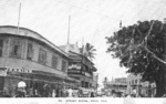 Postcard featuring scene of Suva, Fiji, 1940s