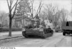 SdKfz 165 self-propelled gun in Romania, Mar-Apr 1944