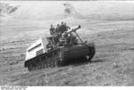 SdKfz 165 self-propelled gun in the Soviet Union, Jun-Jul 1943