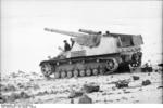 SdKfz 165 self-propelled gun in the Soviet Union, Jan-Feb 1944