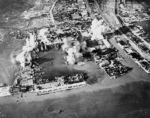 Surabaya under attack, Java, Dutch East Indies, 17 May 1944, photo 3 of 3