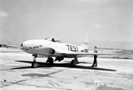 P-80A Shooting Star aircraft, Ames Aeronautical Laboratory, Moffet Field, California, United States, 22 July 1946