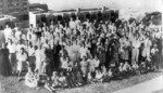 American internees, Stanley Internment Camp, Hong Kong, early 1942
