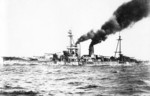Ise underway, 12 Sep 1917
