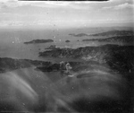 Ise burning, Kure, Japan, 28 Jul 1945