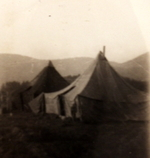 US Army tents, Italy, 1945