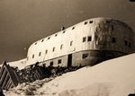 Priyut 11 station on Mount Elbrus, Russia, circa 17 Aug 1942; photograph taken by a German soldier
