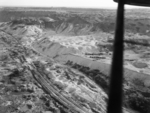 German V2 site at Wizernes, France, 1942-1945; photograph taken from a British aircraft