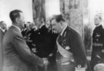 Nikolai Reek meeting Adolf Hitler in Germany, 20 Apr 1939