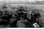 German soldiers receiving instructions on the Panzerschreck weapon, southern Soviet Union, 1944, photo 2 of 2