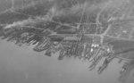 Aerial view of William Cramp & Sons shipyard, Philadelphia, Pennsylvania, United States, 15 Mar 1943
