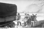 5 cm PaK 38 gun and crew with Raupenschlepper Ost tractor, Russia, early 1944, photo 1 of 3