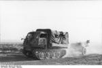 Raupenschlepper Ost tractor towing 5 cm PaK 38 gun, Russia, Aug-Sep 1943, photo 1 of 2