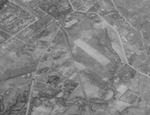Aerial photo of Tainan, Taiwan, 10 Sep 1944, photo 2 of 2; note grey rectangular region, soon misidentified by US military as Tainan North Airfield, was actually a Japanese Army shooting range