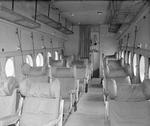 Passengers compartment of an Avro York aircraft of RAF Transport Command at RAF Lyneham, Wiltshire, England, United Kingdom, 1943-1945