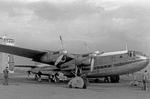 Avro York G-AMGK aircraft of Eagle Aviation Limited, Luton Airport, Luton, England, United Kingdom, 1952