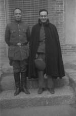 General Tang Enbo and journalist Theodore H. White, Henan Province, China, early 1943