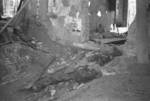 Destruction in Changsha, Hunan Province, China, early 1942, photo 1 of 2