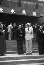Attendees of the Second Plenary Session of the National Political Council, Chongqing, China, 17 Nov 1941