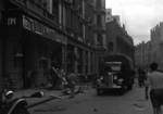 Palace and Cathay Hotels damaged by accidental bombing, Shanghai, China, 14 Aug 1937, photo 2 of 7