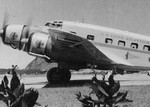 Italian built passenger airliner based on the SM.79 model with the German owned Scadta Airline based in Columbia during a stop at Borinquen Field, Puerto Rico, 1939.