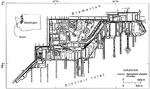 Map of Puget Sound Naval Shipyard, Bremerton, Washington, United States.