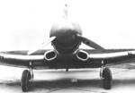 Experimental A-17A aircraft at the National Advisory Committee for Aeronautics