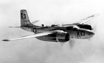 A-26B-35-DL Invader aircraft in flight, Aug 1943-Jan 1947