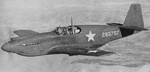 A-36A Apache aircraft on a training flight near Savannah, Georgia, United States, 1942; this plane was destroyed in a landing accident 8 Jan 1943